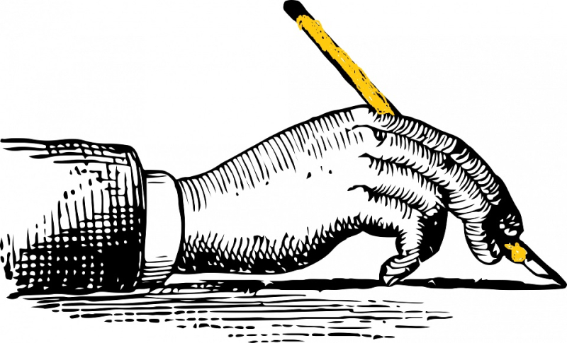 Writing-hand 1