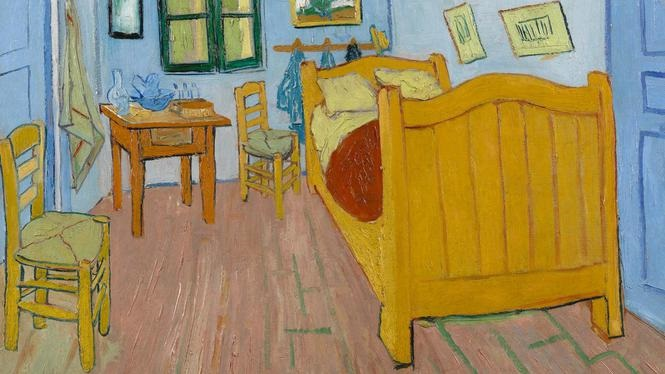 Vangogh blue room