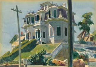 Hopper  house on hill