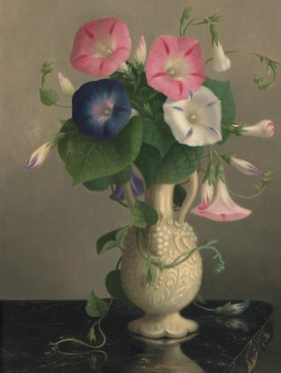 Vase w flower hannah brown steele