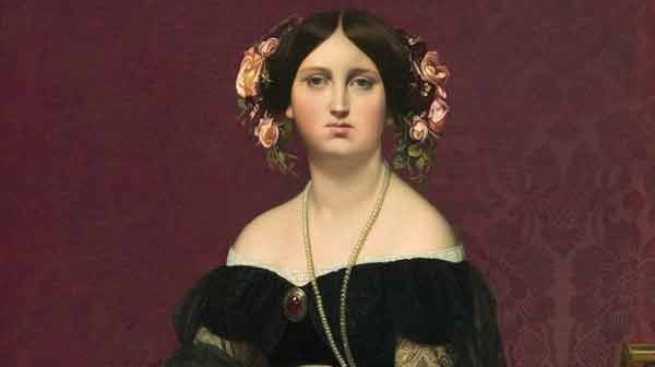 Jeweled woman Ingres