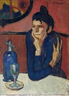 Picasso Femme_au_café