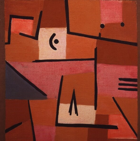 Paul klee View from Red