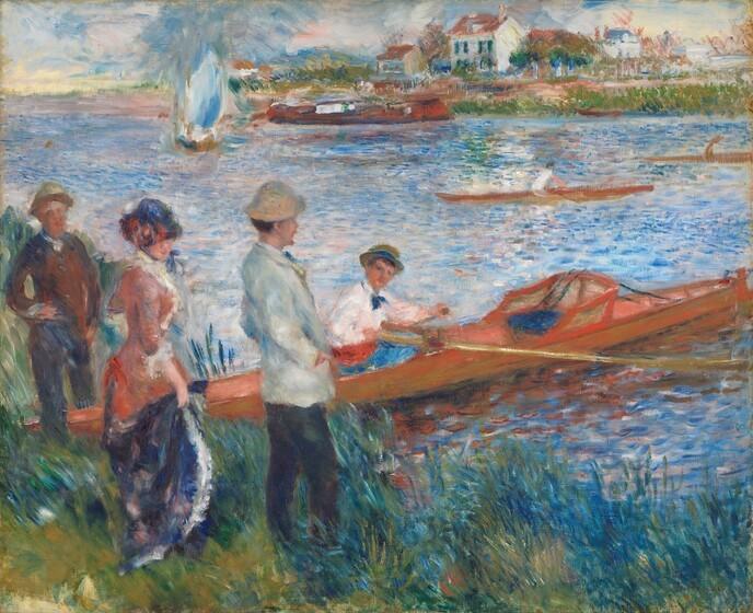 Travel renoir oarsmen at chatou