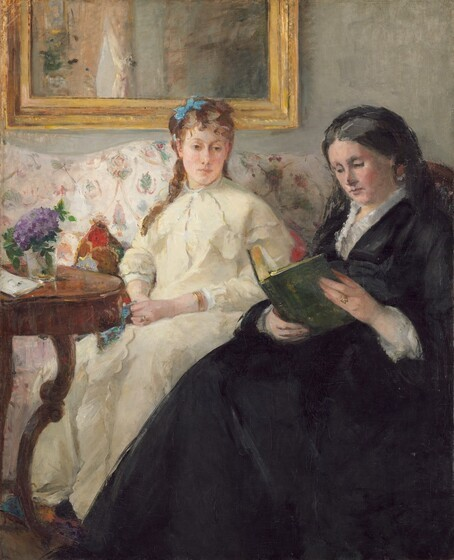 Mother sis of artists B Morisot